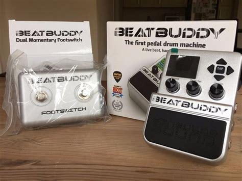 beatbuddy pedal drum machine  footswitch brand