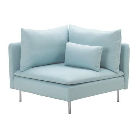 ikea turquoise couch s 214 derhamn corner section isefall light turquoise ikea