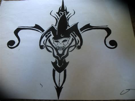 jester tattoo designs tribal jester designs www pixshark images