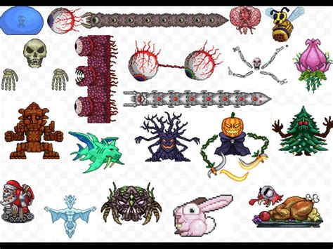 Terraria. All the bosses   Terraria   Pinterest   Terraria