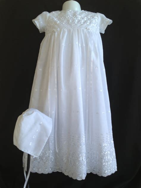 Handmade Christening Gowns - handmade baby christening gown made of by