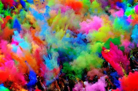 color fight color powder fight color