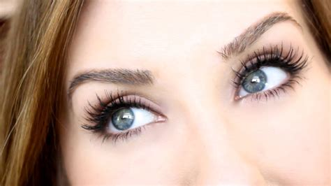 False Eyelash tutorial false lashes look perf