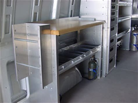 van work bench p b truck accessories commercial products ranger design