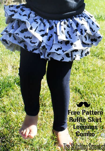 pattern for ruffle leggings ruffle skirt and leggings combo with free pattern the