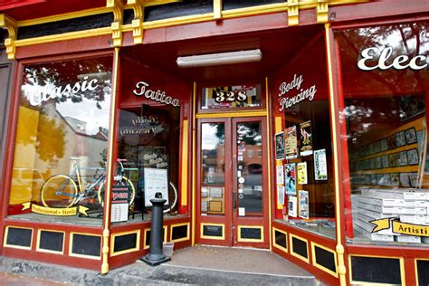 tattoo shops in md in downlown frederick maryland streets shops and landmarks