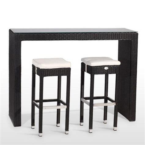 mesas altas y taburetes conjunto de mesa alta con tapa de cristal 6 taburetes de