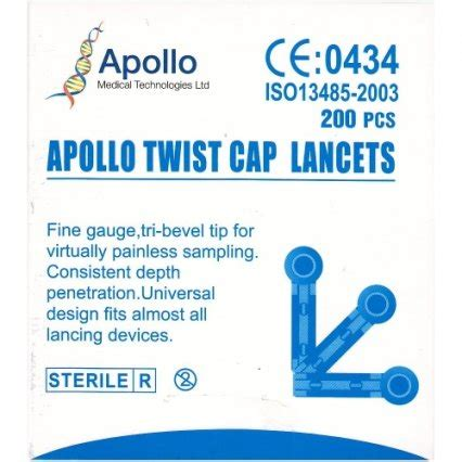Inhalant Decongestant 10ml Quality apollo twist cap lancets 200s lancets chemist net