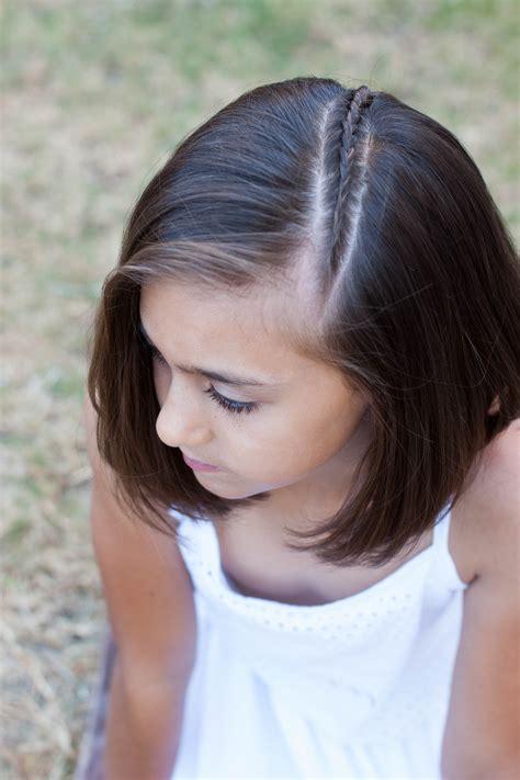 Braids for short hair cute girls hairstyles