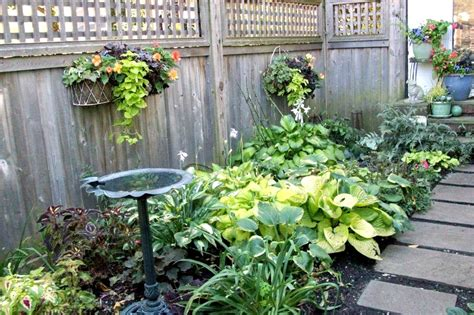 shady backyard ideas landscape ideas for small shady backyard the garden