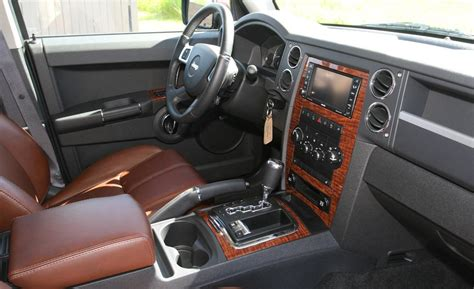 jeep commander inside car and driver