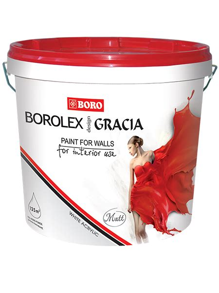 GRACI? VINYL MATT white acrylic latex Water dispersion