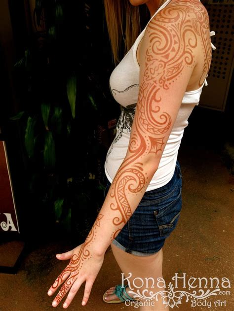 henna tattoo sleeve cost best 25 tribal sleeve tattoos ideas on