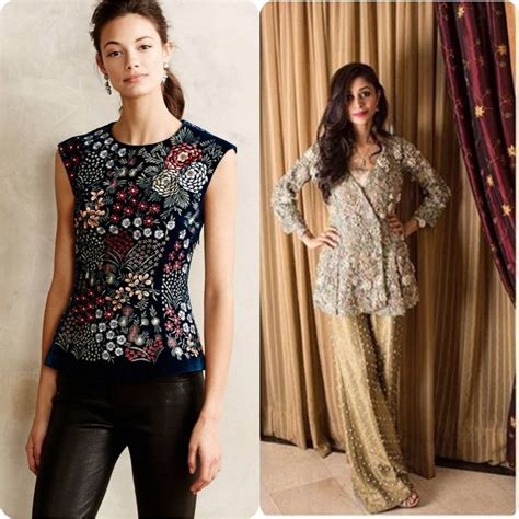 current design trends 2017 beautiful peplum shirts tops latest design stylo planet