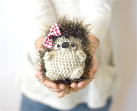 crochet pattern x woodland hedgehog amigurumi crochet pattern mama in a stitch
