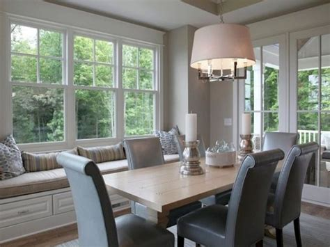 Dining Room Window Seat by Bedroom Trends Paneled Dining Room Dining Room With