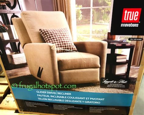 True Innovations Recliner by Costco Sale True Innovations Glider Swivel Recliner 239