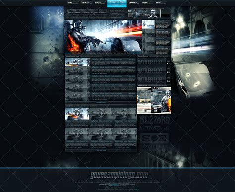 Gaming Community Website Templates Gaming Community Website Template By Insdev On Deviantart