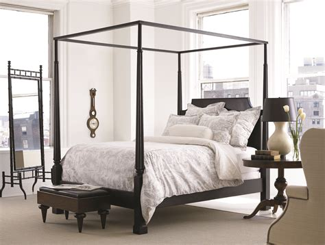 poster bed bedroom featuring savannah poster bed queen 4