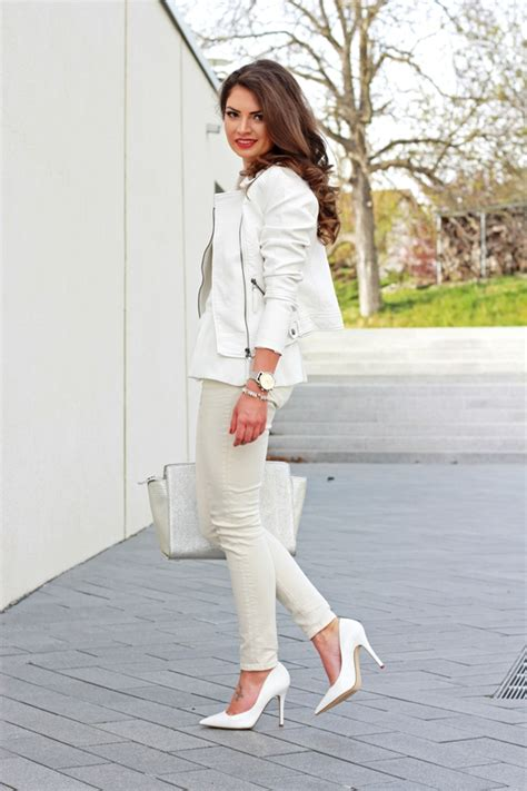 all white outfits shopstyle outfit all white and silver details fashionhippieloves