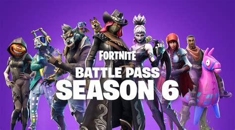 fortnite season 6 fortnite season 6 battle pass trailer details rewards
