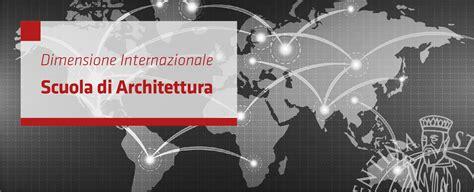 mobilita internazionale mobilit 224 internazionale architettura scuola di