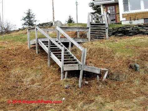 Building Stairs With A Landing exterior stairways guide to outdoor stair railing landing construction inspection safety