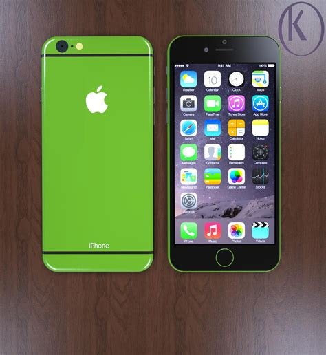 iphone new layout iphone 6c gets new design version from kiarash kia