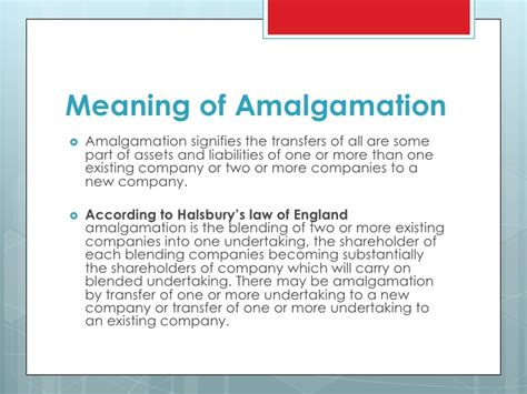 types meaning meaning of merger amalgamation acquisition and merger types