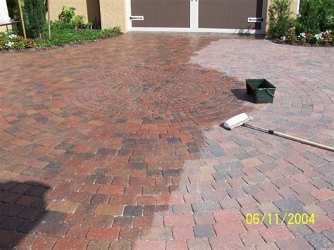 Clean Pavers Seal Pavers Apopka Orlando Kissimmee Paver Patio Sealer