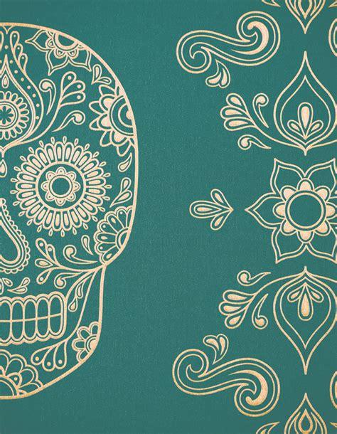 skull desktop wallpaper tumblr day of the dead sugar skull wallpaper galleria81