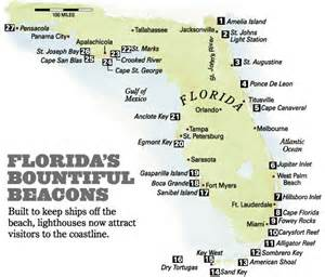 florida lighthouses map forzano ggs310
