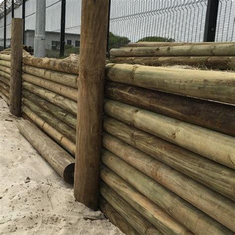 machine turned pine poles treated poles  pole yard