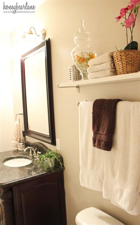 easy bathroom makeovers bathroom makeover reveal honeybear