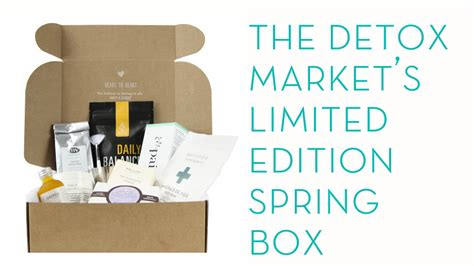 Detox Market Box by Limited Edition The Box From The Detox Market