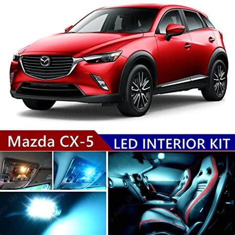 L Mazda Cx 5 Led Kana Kiri mazda cx 5 2013 2017 led premium blue light interior package kit 11 pcs buy in