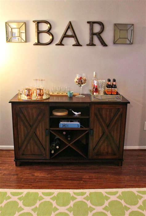 make an at home bar area world market buffet