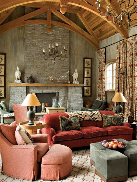 world living room  cozy charm hgtv