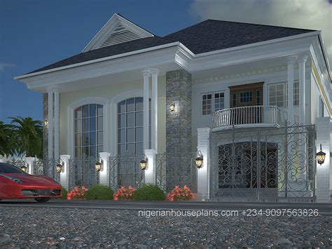 Home Building Designs 5 Bedroom Duplex Ref 5011 Nigerianhouseplans
