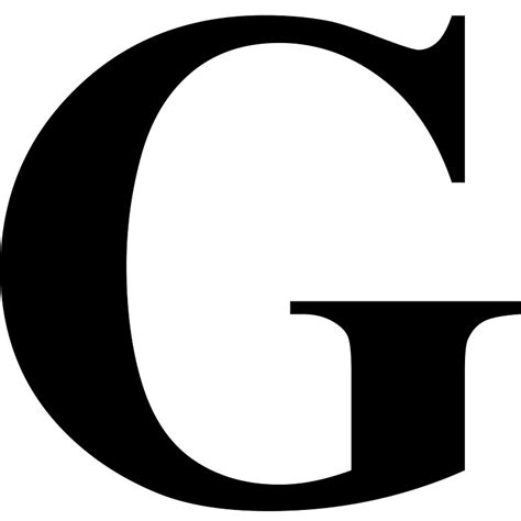 Letter G Images the letter g in black times new serif font typeface