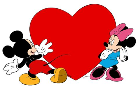 mickey mouse valentines day mickey and minnie clipart 50