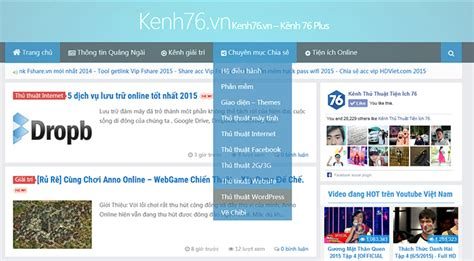 themes wordpress dep share theme wordpress kenh76 vn cực đẹp load cực nhanh