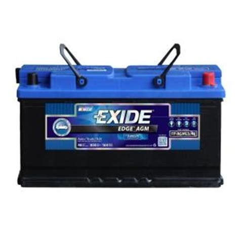 edge l5 49 h8 auto agm battery fp agml5 49ds the home depot