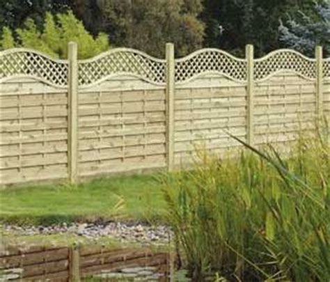 Trellis Topped Fence Panels omega lattice trellis curved top fence panel free delivery available witham timber boston