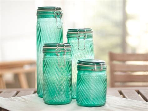 teal kitchen canisters teal canister set teal canisters and etsy