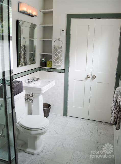 Amy s 1930s bathroom remodel classic and elegant retro renovation