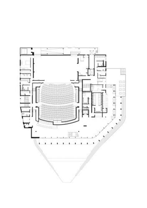 concert hall floor plan 444 best theater plans architecture images on pinterest