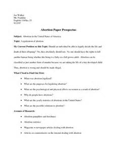 Research Paper Prospectus Sample Writing The Thesis Statement Sentence Gamzdevz