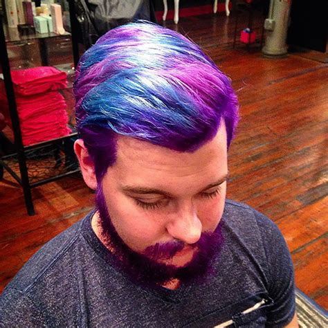 ways to dye hairstyles for men with short hair merman trend men are dyeing their hair with incredibly