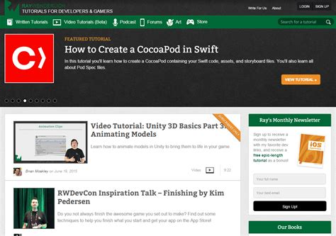 git tutorial ray wenderlich 7 places to learn to code mobile apps rocket farm studios